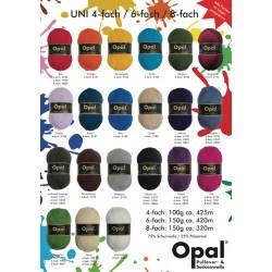 OPAL einfarbige Sockenwolle